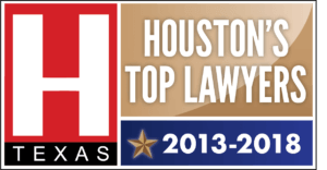 Houston's Top Lawyers badge