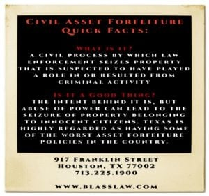 Asset Forfeiture Quick Facts
