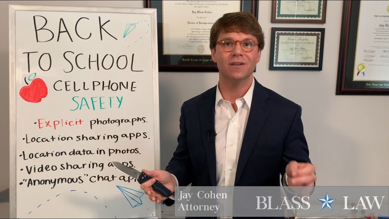 Back to school cell phone safety tips