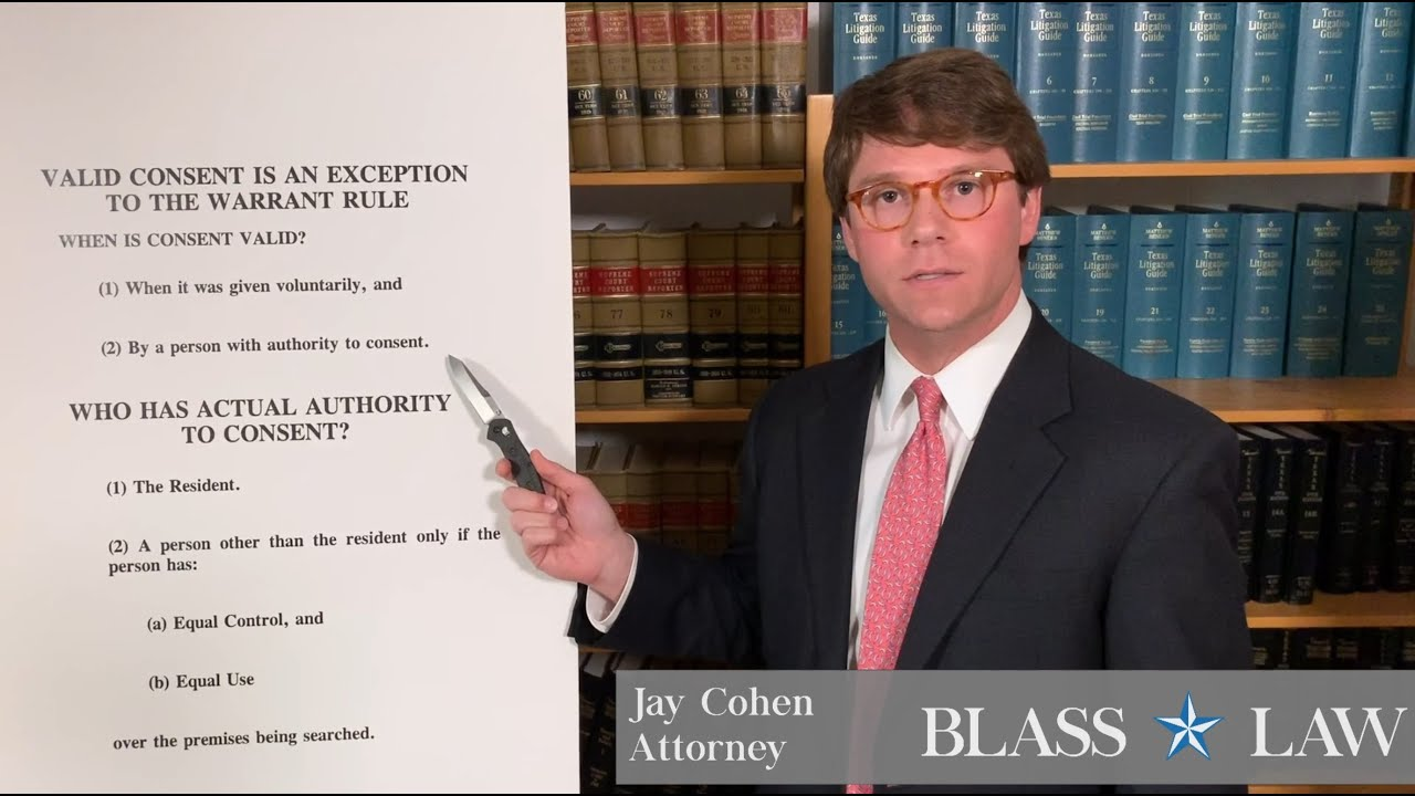 Consent is one exception to the warrant requirement in Texas