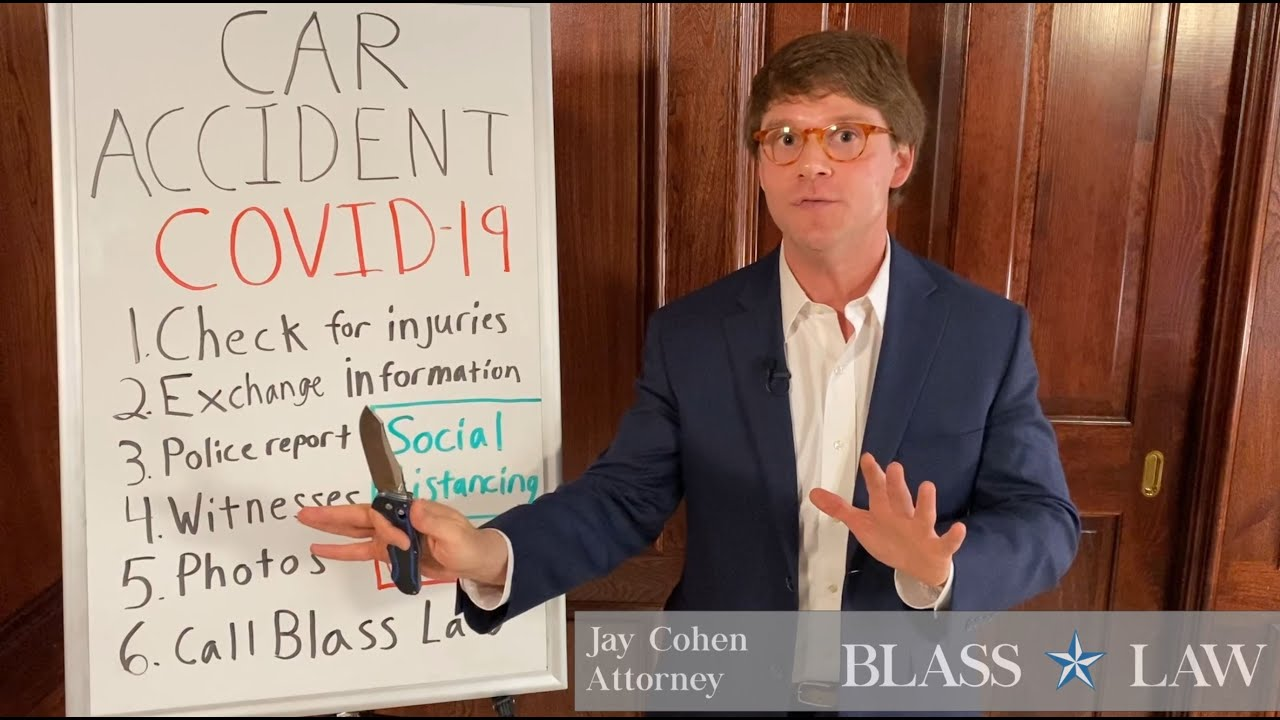 Social distancing after a car accident