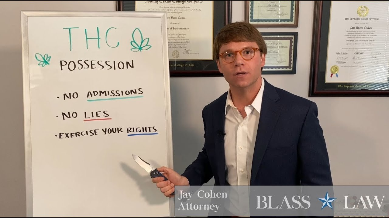 What to do if you are caught with a THC pen